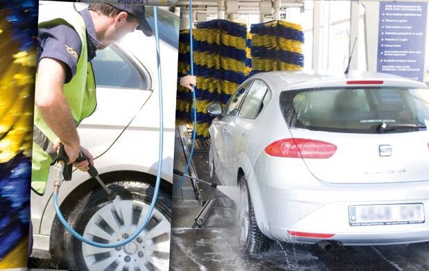 Lavado exterior e interior de coche 9€