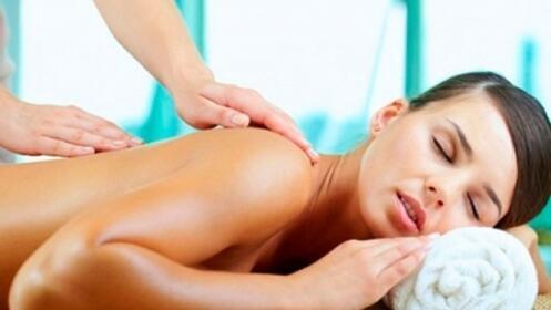 Masaje espalda, relajante o descontracturante por 14.90€
