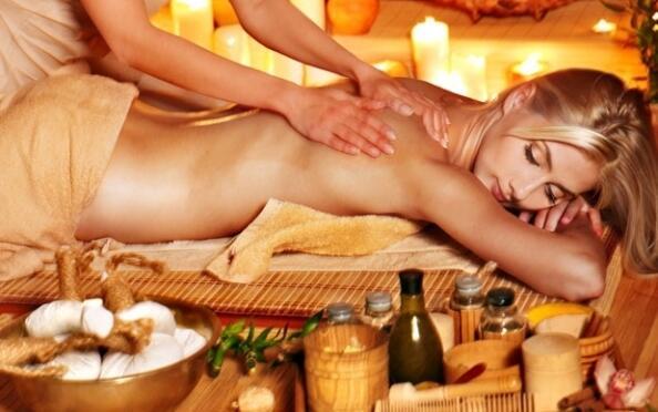 Masaje relajante cuerpo completo por 29 €