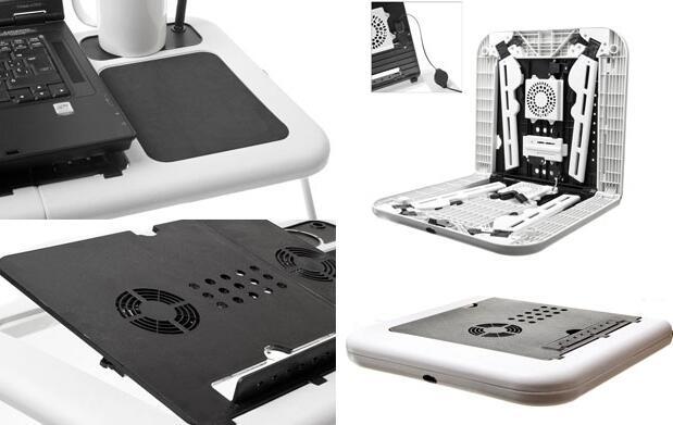 Mesa plegable para el portátil 16€