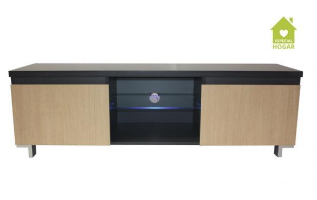 Mueble para TV 2 puertas con luz Led