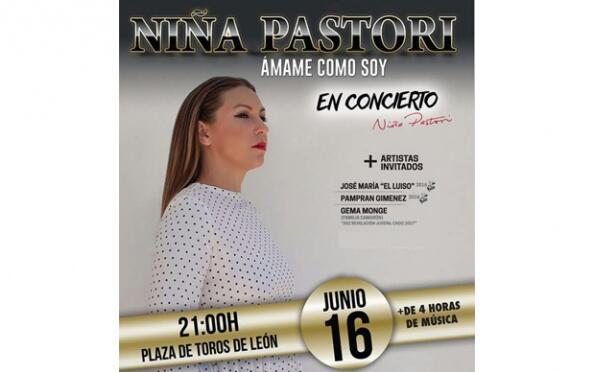 """Entradas Concierto Niña Pastori """"Ámame como soy"""" por 19,90 €"""