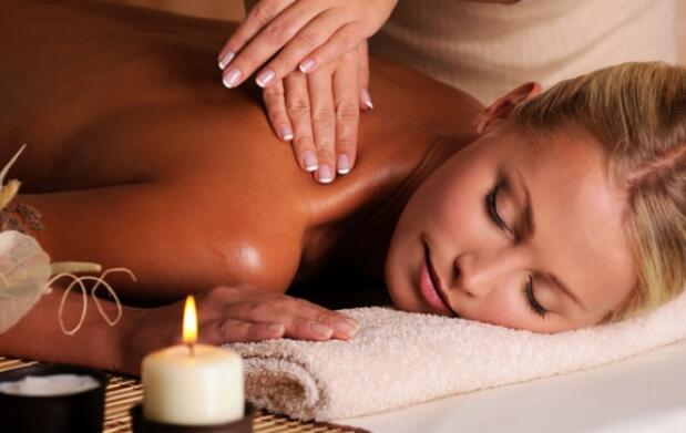 Masaje antiestrés con aceites por 22€
