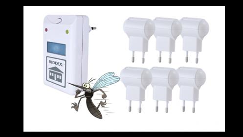 Riddex o Pack de 5 Antimosquitos + Riddex