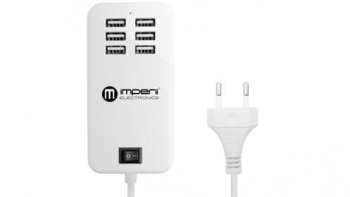Cargador Múltiple 6 USB