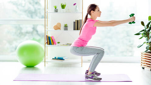 Curso online para hacer gimnasia en casa