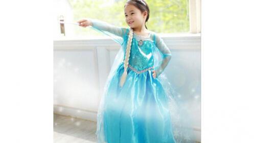 Disfraz inspirado en Elsa, Frozen