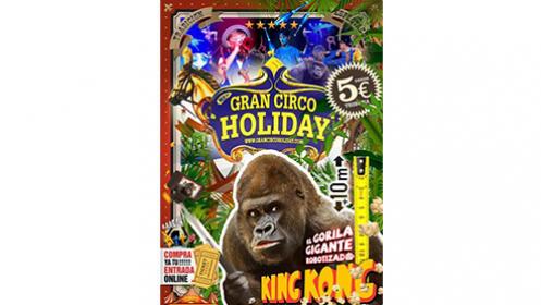 """Entradas """"Gran Circo Holiday"""" en León desde 4,85 €"""