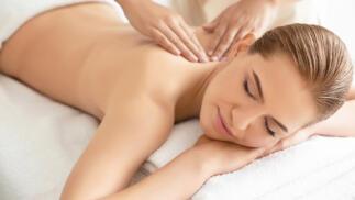 Sesión con masaje descontracturante