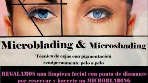 Microblading + limpieza facial con punta de diamante por 249,90€