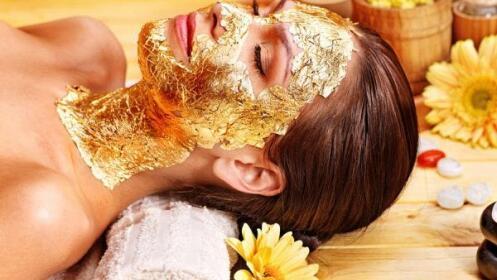 Tratamiento facial con oro por 8,90 €