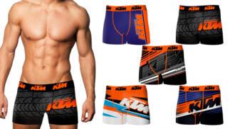 Pack de 5 boxer KTM en diferentes diseños