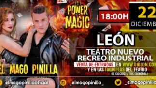 "Entrada para el espectáculo de magia ""THE POWER OF MAGIC"" por 7€"