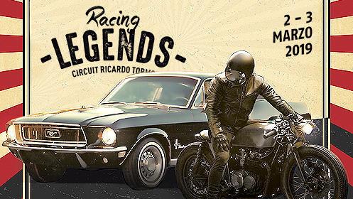2x1 entradas Racing Legends 2019 en el Circuito de Cheste