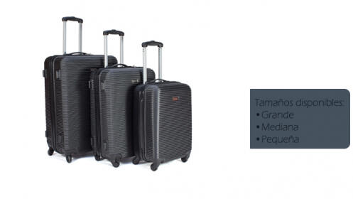 Juego de 3 maletas de viaje