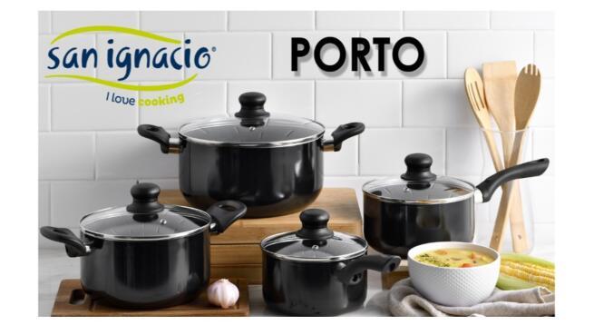 Batería de cocina 8 piezas San Ignacio