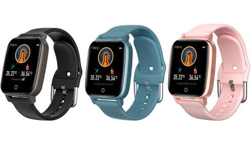 Smartwatch deportivo Thermo Care con medición de la temperatura corporal