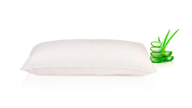 Pack de 2 almohadas de Aloe Vera extra confort