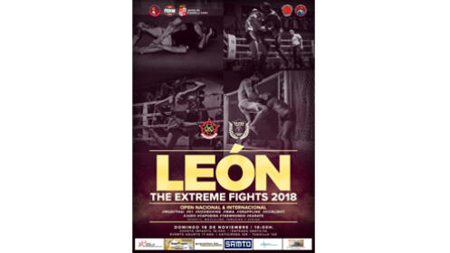 Entrada para THE EXTREME FIGHTS LEÓN por 8,90 €