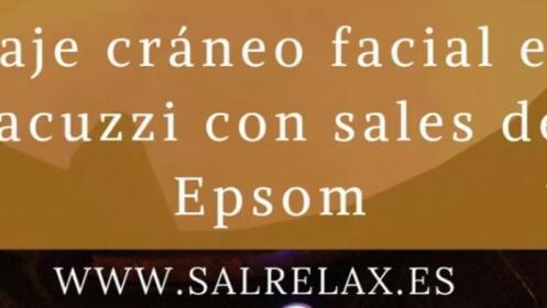 Masaje en Jacuzzi con sales Epsom para dos personas por 54 €